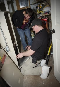 Eric Christians Home Furnace Inspection