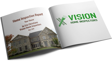 Download a free sample report from Vision Home Inspectors